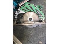 Hitachi 110v skill saw