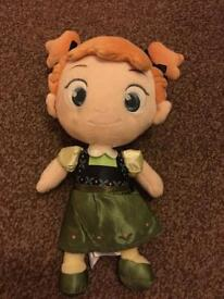 REDUCED PRICE ! Disney Frozen Anna character doll