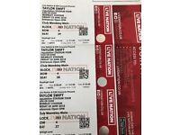 4 x Taylor Swift Tickets - Wembley Stadium