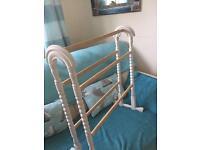 Vintage towel rail