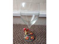 my little pony character wineglass