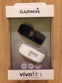 Garmin Vivofit 3 Fitness Activity Tracker - Brand New and Unopened