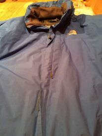 Waterproof clothing men's xxl north face havent jacket, excellent condition, hardly worn as too big