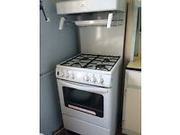 New World 50THLG Gas Cooker, Gas Grill & 4 Burner Hob