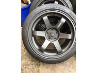 Rota grid alloy wheels 225/45/ZR17
