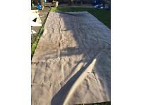 20ft x 8ft ground sheet