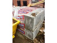Thermalite blocks available for collection only.