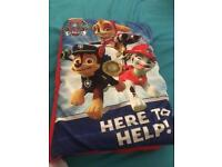 Paw patrol pillow book