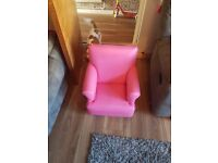 Kids chairs pink