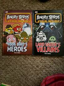 Angry birds books ×2