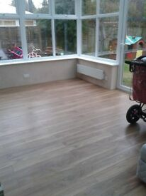 Laminate flooring fitting service