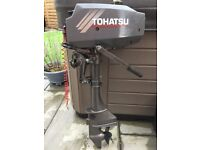 Tohatsu 3.5hp Outboard Engine. Very little use. In good running order