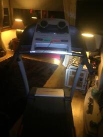 Electric treadmill pro form