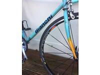 Bianchi road bike