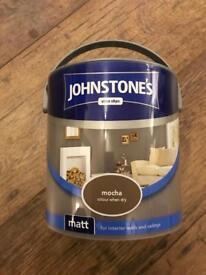 Johnstones paint in mocha
