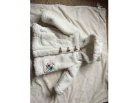 Gorgeous girls coat size 9-12 months from rocha little rocha from Debenhams