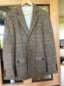 Men's Harris Tweed John Lewis Jacket - Size Large