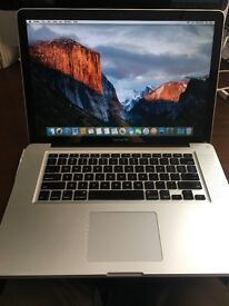 "15"", 2011 Macbook Pro, 2GHz, 8GB RAM..."