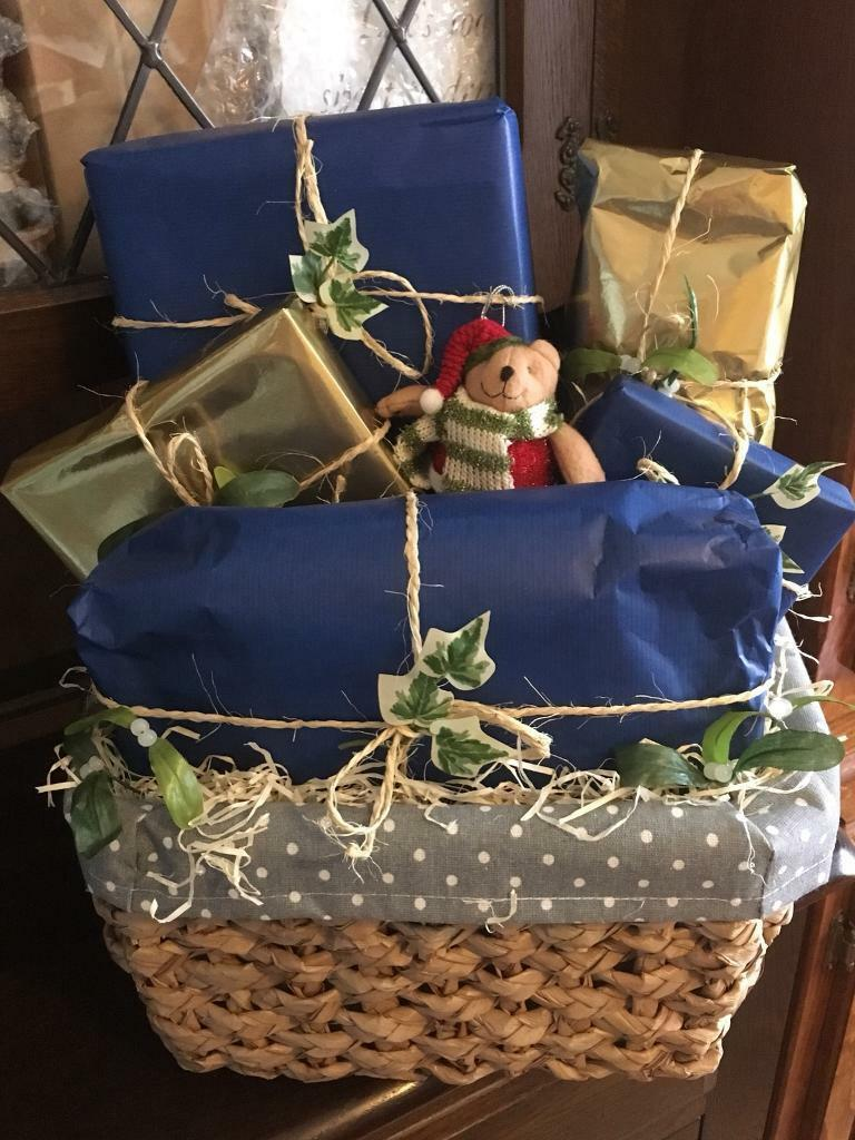'All Wrapped Up' Men's Christmas Gift Basket