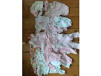 Premature baby girls bundle - £10