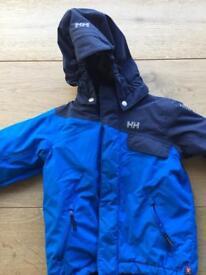 Boys Helly Hanson winter/ski jacket