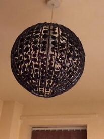NEXT Large Purple Lamp Shade