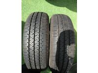 Pair of Michelin 175 65 14C Tyres in West London Area