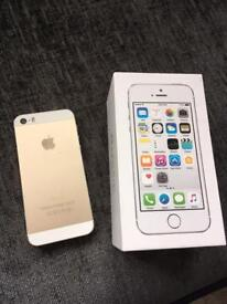 Apple iPhone 5s. Gold. Box. Excellent