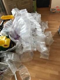 Mountain loads of Packaging bubbles