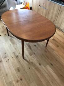 Wood table extending large + medium size