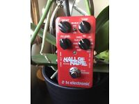 TC Electronic Hall of Fame Reverb Pedal for guitar or bass