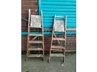 Wooden ladders £15 each
