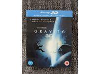 Gravity Blu Ray (2D/3D/Ultraviolet)
