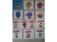 French children Books - Fantomette, Club des 5- Les p'tits monstres, Monsieur, Madame