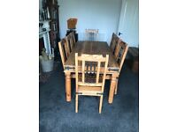 Dining Table & 8-Chairs
