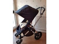 Bugaboo Cameleon 2 pushchair + carrycot+buggy board+car seat