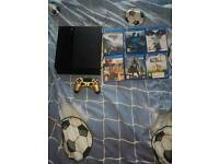 Ps4 & 6 games for sale will come with tv for right deal