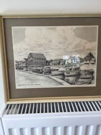 Local area framed prints