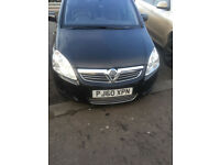 VAUXHALL ZAFIRA 7-SEATER FOR SALE (LEATHER SEAT)