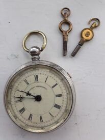 Patent Chronograph Pocket Watch...PRICE REDUCTION