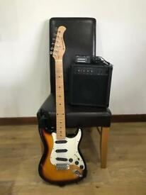 Electric Guitar and Practise Amp Starter Kit