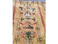 Large Amount Of Brown Pattern Fabric