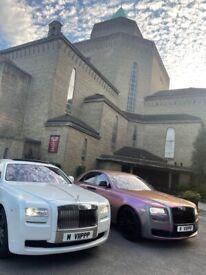 Wedding / Rolls Royce / London / Essex / Kent