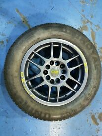OZ Racing alloy wheels (x5) 15x7 et35 5x114.3 5x120 bmw honda nissan mazda