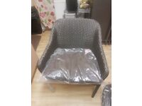 Single seat garden chair