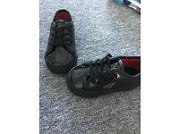 Black creation baby trainers