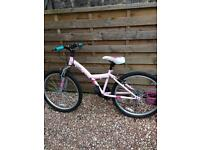 "Free Pink 24"" wheel bike"