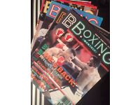 Boxing Monthly Magazines - Job lot