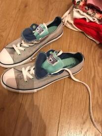 ***new***Converse pumps size 6