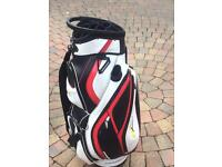 Nearly new powakaddy golf bag